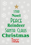 Christmas Greeting Card or banner Stock Photography