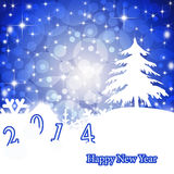 The premise of the New Year 2014. Stock Images