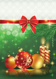 Christmas greeting card 2014 Royalty Free Stock Photo