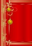 Christmas greeting card, cdr vector stock image