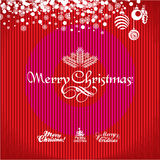 Christmas Greeting Card. Christmas background. Stock Images