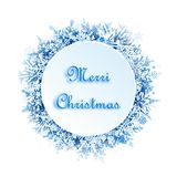 Christmas greeting card. For your design stock illustration
