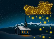 Christmas Greeting Royalty Free Stock Images