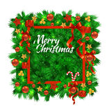 Christmas Greeting Card Royalty Free Stock Image