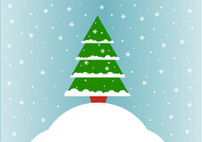 Christmas greeting card. 2d design of a Christmas greeting card Stock Photography