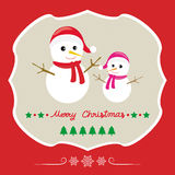 Christmas greeting card66 Stock Image