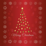 Christmas greeting card. Decorative background for Christmas greetings royalty free illustration