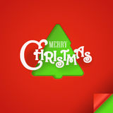 Christmas greeting card. Design elements Royalty Free Stock Photo