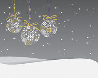 Christmas greeting card. Elegant Greeting card, Christmas and new year card, vector and illustration can be use for wallpaper, background, backdrop Royalty Free Stock Image