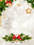 Christmas greeting card. EPS 10 Royalty Free Stock Image