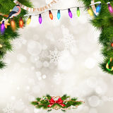 Christmas greeting card. EPS 10 Royalty Free Stock Photos