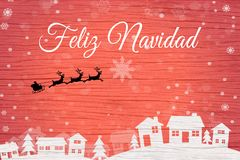 Christmas greeting card-ES vector illustration
