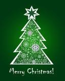 Christmas greeting card Stock Photos