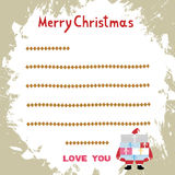 Christmas greeting card14 Royalty Free Stock Photo