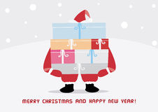 Christmas greeting card29 Stock Image