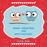 Christmas greeting card58 Royalty Free Stock Images