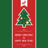 Christmas greeting card69. Christmas greeting card for everyone Royalty Free Stock Photo