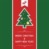 Christmas greeting card69 Royalty Free Stock Photo
