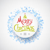 Christmas greeting card. Holiday illustration Stock Photography