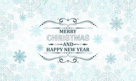 Christmas greeting card,  illustration. Stock Photos