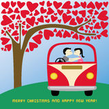 Christmas greeting card36 Royalty Free Stock Photography