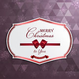 Christmas Greeting card. Greeting card or invitation. Vector royalty free illustration