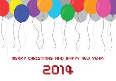 Christmas greeting card35 Royalty Free Stock Photo