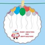 Christmas greeting card32 Stock Image