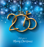 2015 Christmas Greeting Card for New Year Flyers Stock Images
