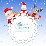 Christmas greeting card Royalty Free Stock Photos