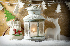 Christmas greeting card. Royalty Free Stock Photos