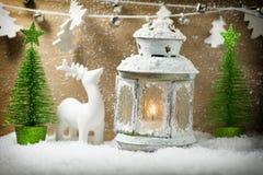 Christmas greeting card. Stock Photo