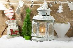 Christmas greeting card. Royalty Free Stock Image
