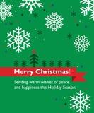Christmas greeting card Royalty Free Stock Photos