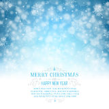 Christmas Greeting Card with Space for Copy - Illustration. Stock Photos