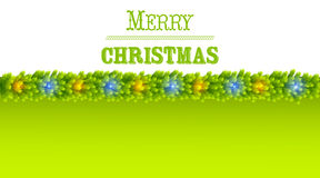Christmas greeting card vector Royalty Free Stock Photo