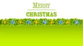 Christmas greeting card vector Royalty Free Stock Photo
