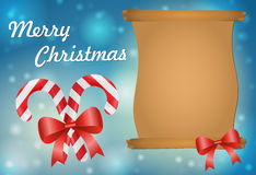 Christmas greeting card. Vector illustraiton Stock Images