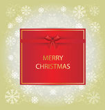 Christmas Greeting Card. Royalty Free Stock Photo