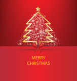 Christmas Greeting Card. Royalty Free Stock Photography