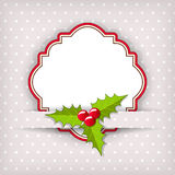 Christmas greeting card. Royalty Free Stock Images