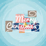 Christmas Greeting Card. Vector Stock Images