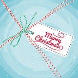 Christmas Greeting Card. Vector Royalty Free Stock Image