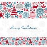 Christmas Greeting Card. Stock Image