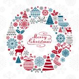 Christmas Greeting Card. Stock Images