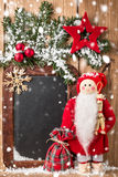 Christmas greeting card or wish list. Stock Images