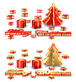 Christmas Greeting Cards Royalty Free Stock Image