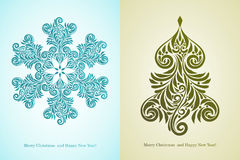 Christmas Greeting Cards Stock Photo