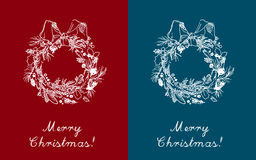 Christmas greeting cards Stock Photography