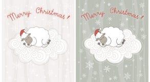 Christmas greeting cards Stock Image